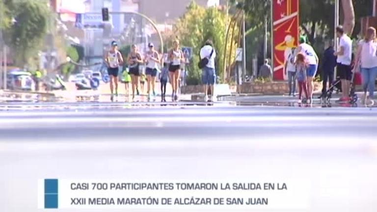 XXII Media maratón de Alcazar de San Juan