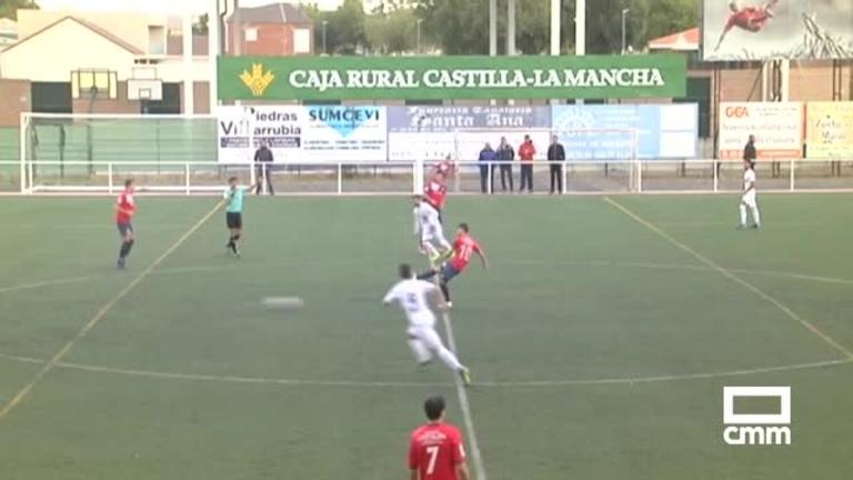 Mora CF - CD Villacañas (1-4)