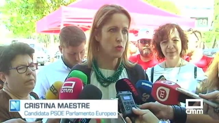 Cristina Maestre apuesta por el desarrollo rural de los pueblos gracias a los fondos europeos.
