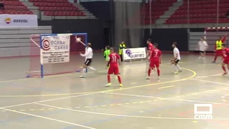 FSD Puertollano - RIvas Futsal (2-8)