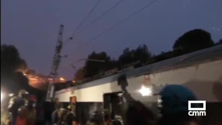 Un muerto y 49 heridos por el descarrilamiento de un tren en Vacarisses, Barcelona