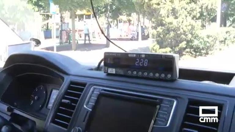 Pitada en Puertollano de taxistas contra la competencia desleal
