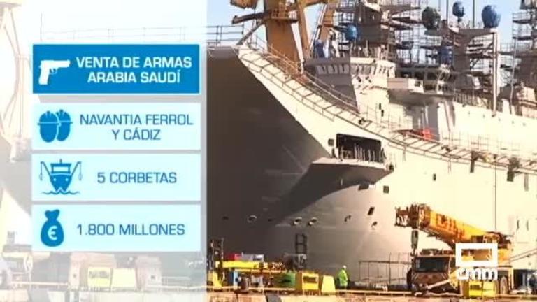 España mantiene la venta de armas a Arabia Saudí