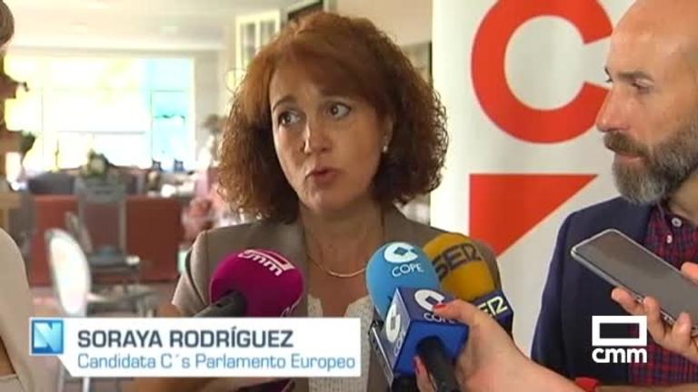 Ciudadanos: Soraya Rodríguez insiste en que su partido garantiza una reforma de Europa alejada de populistas y nacionalistas