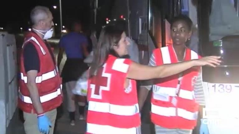 Marchamalo ya acoge a un centenar de los migrantes para ayuda humanitaria
