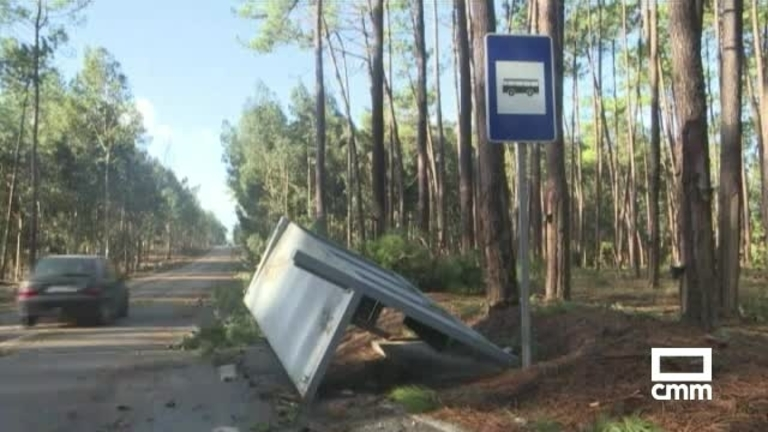 El paso de Leslie por España deja fuertes rachas de viento y lluvias generalizadas