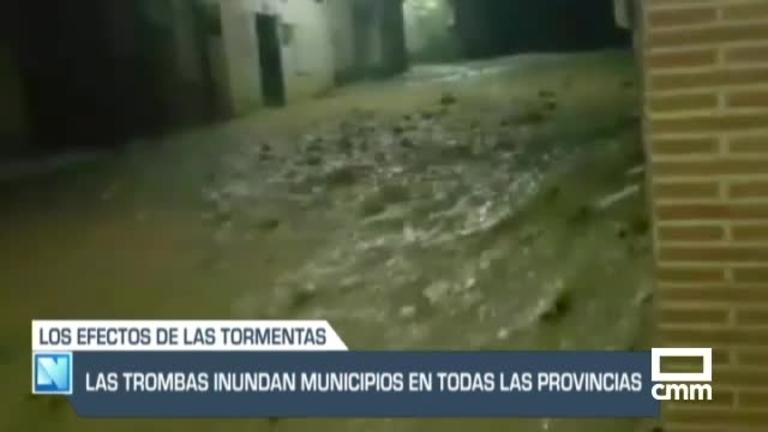 Castilla-La Mancha anegada por las tormentas, y otras noticias del día
