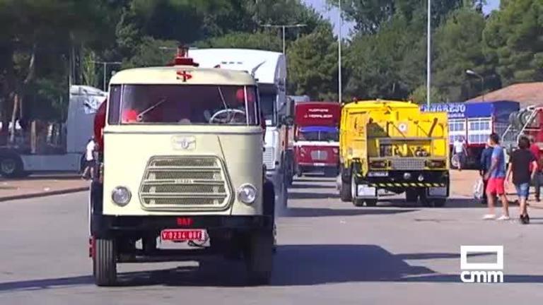 La XIV Concentración Nacional de Camiones Clásicos se celebra con una ruta desde Tomelloso a Ruidera