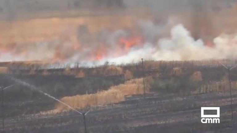 Vídeo: así comienza un incendio - CMM presencia uno en Carboneras de Guadazón (Cuenca).
