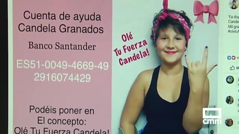 Solicitan ayuda para costear una prótesis para una niña de Quer, Guadalajara