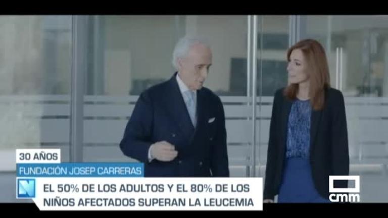 La Fundación Josep Carreras contra la leucemia cumple 30 años con una periodista de CMM