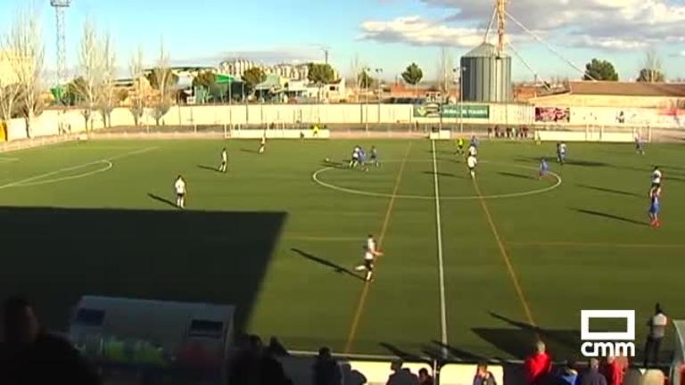 CD Madridejos - Villarrubia CF (1-1)