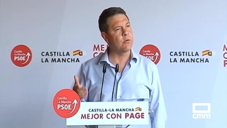 PSOE: Page remarca su objetivo de crear otros 100.000 empleos y pone en valor lo conseguido