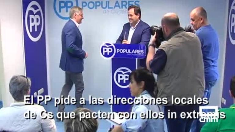 El acuerdo PSOE-Cs deja al PP sin poder en las principales ciudades de Castilla-La Mancha, y otras noticias