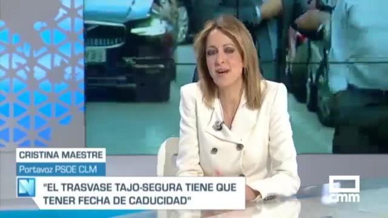 """Maestre (PSOE): """"Nuestra carta de presentación es el trabajo realizado"""""""