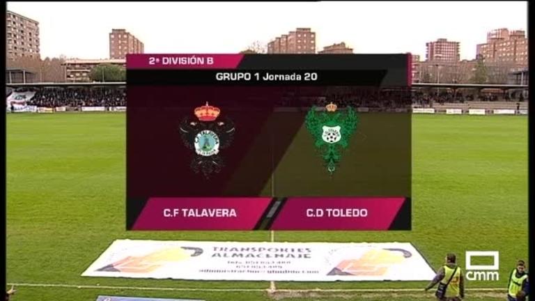 Fútbol 2ªB. C.F. Talavera - C.D. Toledo