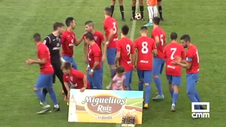 La Roda CF - Calvo Sotelo CF (1-1)