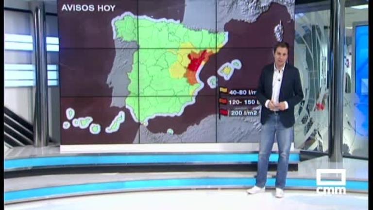 En aviso amarillo las provincias de Cuenca y Guadalajara por fuertes lluvias