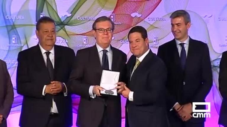 Primera edición de los premios al Mérito Cultural de Castilla-La Mancha