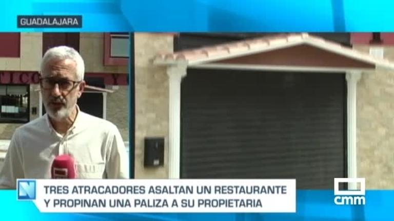 Una mujer, herida tras un atraco en la Travesía de la Alcarria de Guadalajara