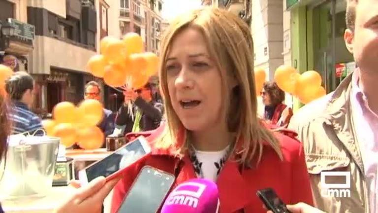 Ciudadanos: Carmen Picazo, en Albacete, asegura que Castilla- La Mancha quiere cambio