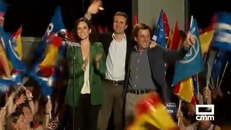 Carmena pierde Madrid; El PP recupera el Ayuntamiento y la Comunidad