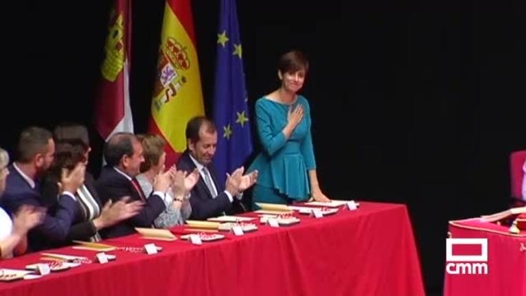 Isabel Rodríguez, investida alcaldesa de Puertollano con los votos del PSOE