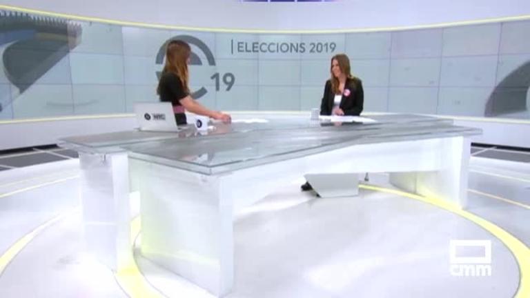 Unidas-Podemos: Esther Sanz defiende el feminismo en Valencia y Rodríguez Palop en París