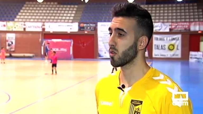 ¿Todavía no conoces a Rafa Luque finalista del BalónCLM18? Atento al mensaje del jugador del FS Talavera