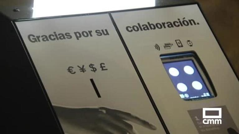 La catedral de Sigüenza dispone ya de 'cepillo electrónico' para los donativos