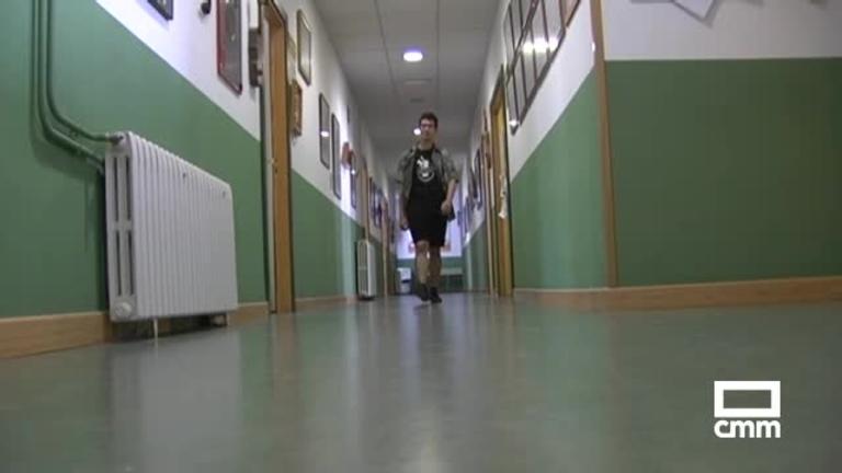 Pablo, el estudiante albaceteño que ha sacado la máxima nota en la EVAU y bachillerato