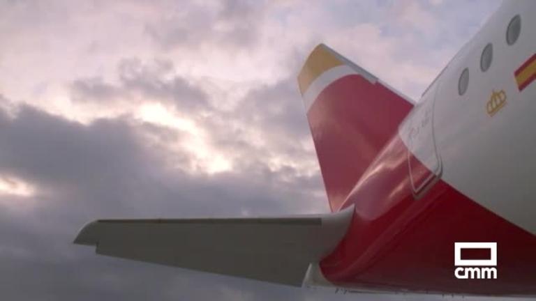 Vuela el nuevo Airbus Plácido Domingo, parcialmente fabricado en Illescas