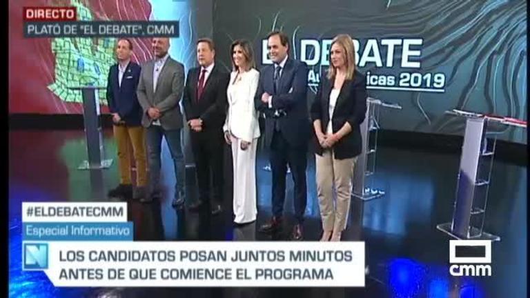 #ElDebateCMM, una retransmisión histórica en nueve canales: TV, Internet y radio
