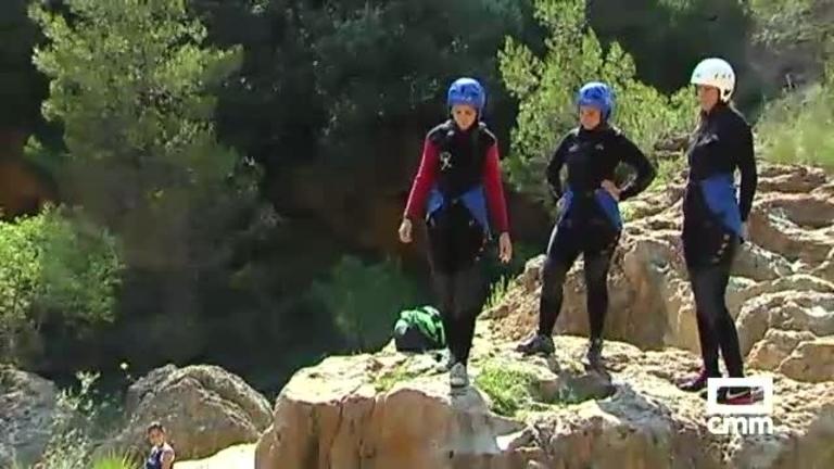 Cinco euros por actividad y un límite de 30 personas/hora: novedades en el turismo activo de Las Chorreras (Cuenca)