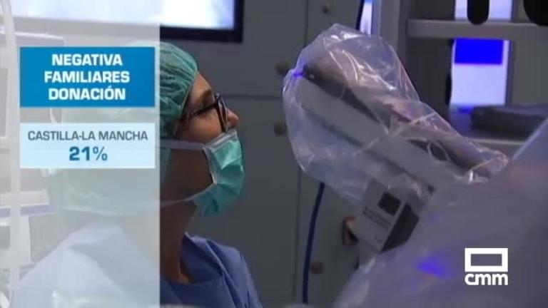 Las negativas familiares provocan una bajada en donación de órganos en CLM