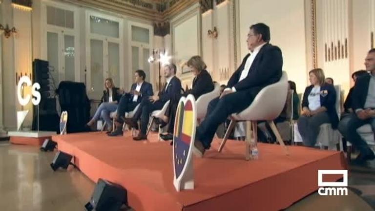 Ciudadanos: Albert Rivera explica sus medidas LGTBI en Albacete