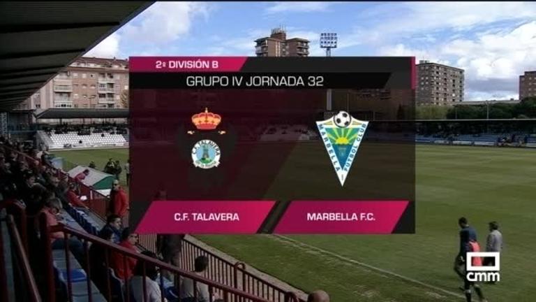 CF Talavera - Marbella FC