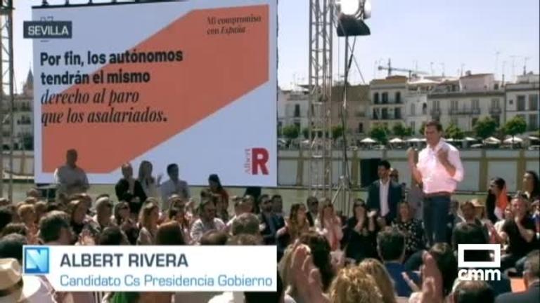 Ciudadanos: Rivera se compromete a que autónomos tengan el mismo derecho al paro que asalariados