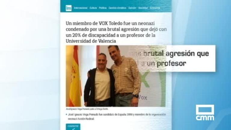 Vox investiga a un militante de Toledo que fue condenado por agredir a un profesor