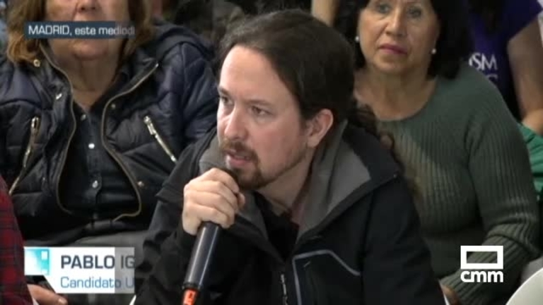 Unidas Podemos: Iglesias participa en un acto contra el maltrato animal