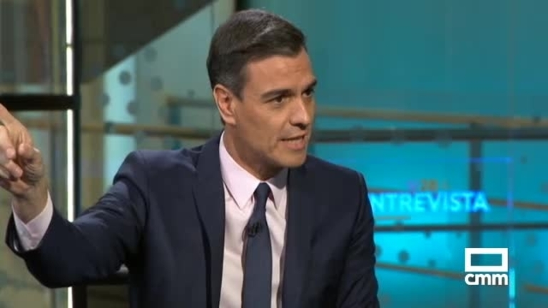 PSOE: Pedro Sánchez habla sobre políticas sociales y acabar con la corrupción