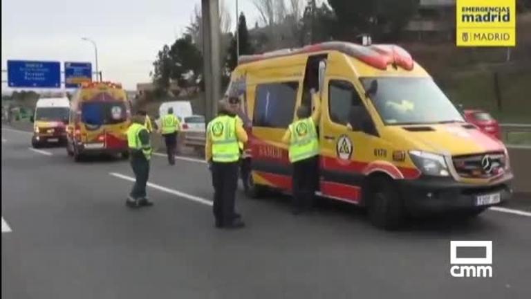 El taxista atropellado en Madrid durante la huelga, ingresado