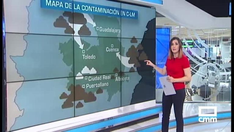 Mapa de contaminación de CLM: Puertollano, la ciudad más contaminada y Ciudad Real, la más limpia