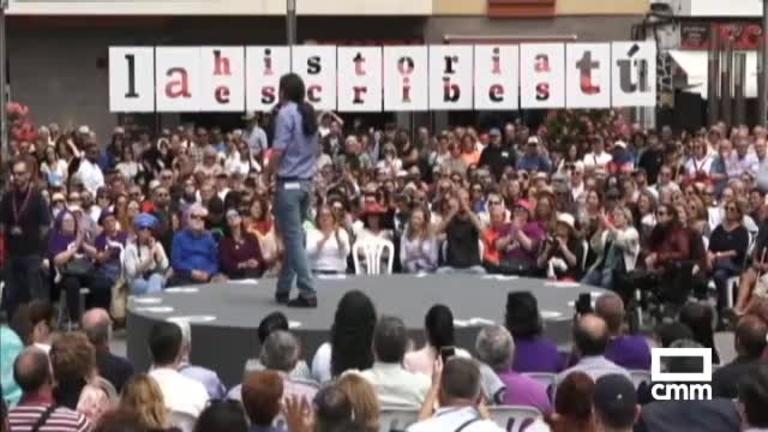 Unidas Podemos: Pablo Iglesias asegura en Las Palmas que traicionar a la patria es privatizar la riqueza pública