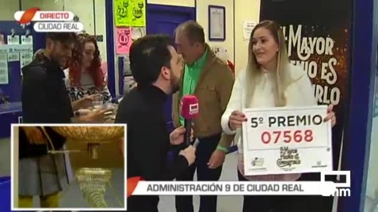 Un bar de Ciudad Real reparte casi un millón de euros con el 7.568, un 5ª premio