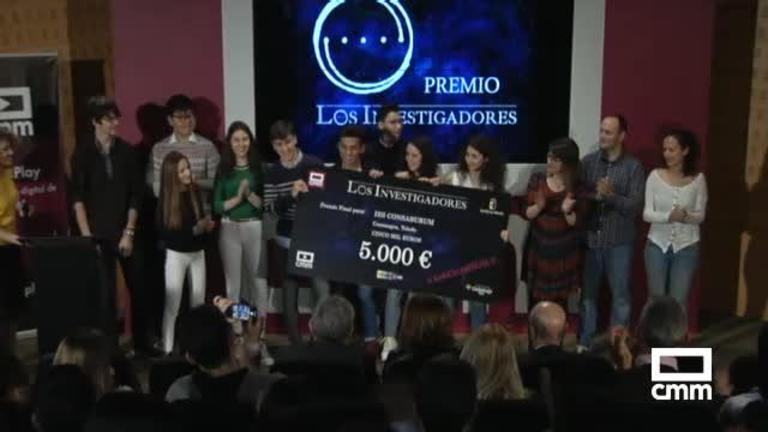 Entrega de premios Los Investigadores