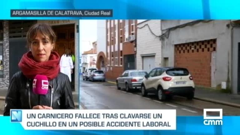 Muere un hombre tras resultar herido con un cuchillo en una carnicería en Argamasilla de Calatrava