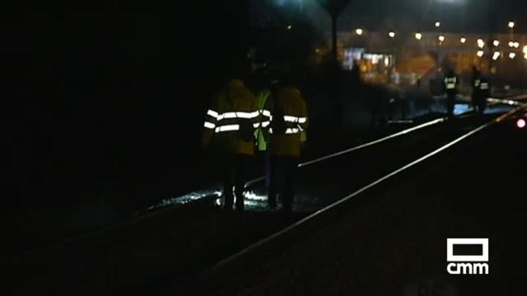 Un sabotaje, causa del descarrilamiento del tren en Torrijos