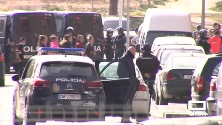 Macrooperación policial antidrogas en el barrio de La Milagrosa de Albacete