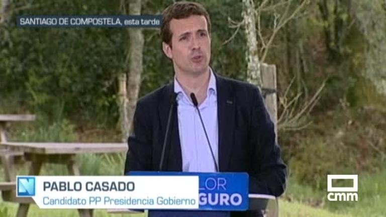 PP: Pablo Casado se compromete a crear un Ministerio de Familia